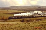 Bulleid unrebuilt West Country Class 34092 City of Wells Aisgill Settle and Carlisle 1988 (3)