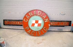 Canadian Pacific nameplate