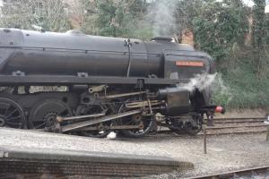 BR Standard 9F class 92203 Black Prince