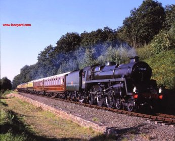 Severn Valley Railway - 1993 BR Standard class 4MT 75069 BR Green by Basil Roberts