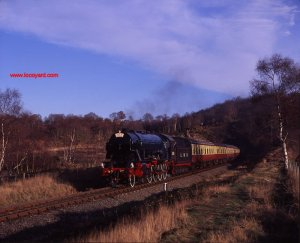 Severn Valley Railway WD class 2-8-0 (LMR) 600 Gordon - 1996 by Basil Roberts