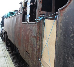 2015 - Bluebell Railway - Sheffield Park - BR Standard 4MT 2-6-4T class 80100 (Barry scrapyard condition)