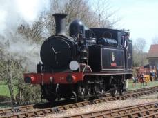2015 - Isle of Wight Railway - O2' Class 0-4-4T No.W24 'Calbourne'