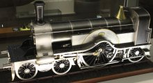 Science Museum Scale Model of GNR Single 4-2-2 Built by Frank L Baines of Baines brothers 1895