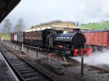 S&DJR train at Washford