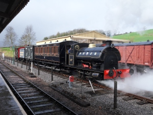 S&DJR train at Washford