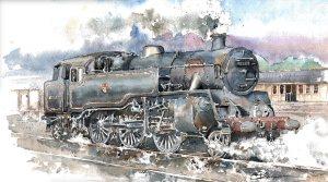 standard-4MT-steam-painting-stephen-bedser