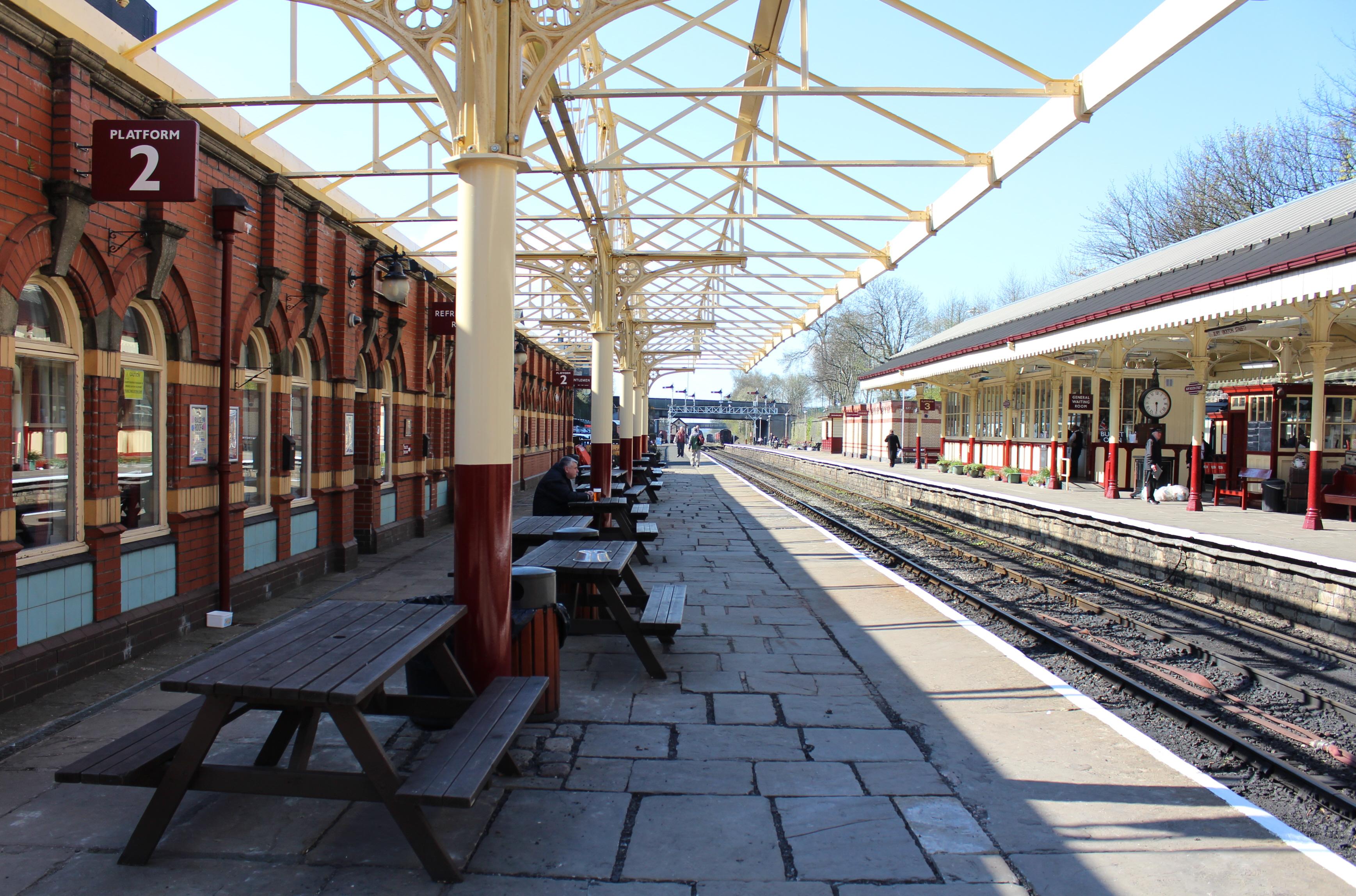 2015 - East Lancashire Railway Bury Bolton Street - station (canopy) & Canopy Project | Loco Yard