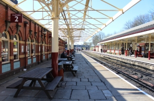 2015 - East Lancashire Railway Bury Bolton Street - station (canopy)