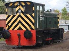 2015 - Severn Valley Railway Bridgnorth - Ruston & Hornsby 0-4-0 diesel shunter D2961