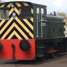 2015 - Severn Valley Railway Bridgnorth - Ruston & Hornsby 0-4-0 diesel shunter D2961