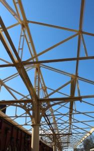 2015 - East Lancashire Railway Bury Bolton Street station canopy