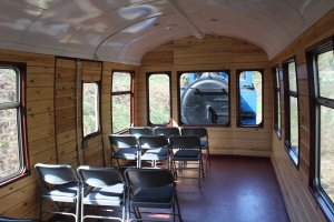 2015 - Lakeside and Haverthwaite Railway - converted observation car Andrew Barclay 0-6-0T 1245
