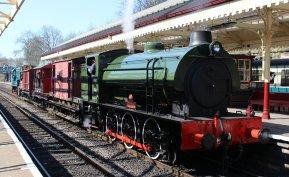 2015 - East Lancashire Railway Bury Bolton Street - WD Hunslet Austerity 132 Sapper