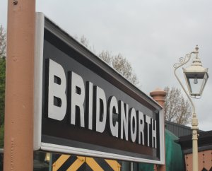 2015 - Severn Valley Railway Bridgnorth station sign