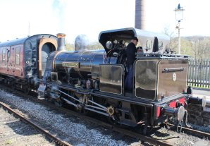 2015 - East Lancashire Railway Ramsbottom - Haydock Foundry 0-6-0 well tank built 1874, number C Bellerophon