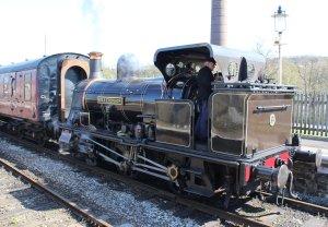 2015 - East Lancashire Railway Ramsbottom - Haydock Foundry 0-6-0 well tank built 1874, number C Bellerophon