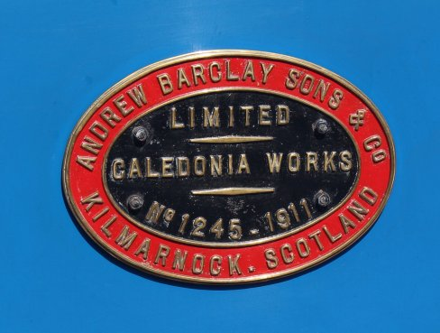 2015 - Lakeside and Haverthwaite Railway - Andrew Barclay 0-6-0T 1245