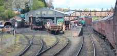 2015 - Severn Valley Railway Bridgnorth engine sheds and station