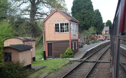 2015 - Severn Valley Railway Bridgnorth - Hampton Loade signal box