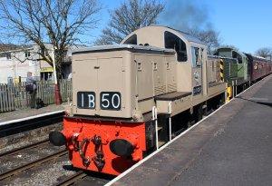 2015 - East Lancashire Railway Ramsbottom - Class 14 diesel-hydraulic locomotive D9531 and D9531 Ernest