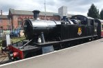 2015 - Severn Valley Railway Kidderminster - Ex-GWR 45xx 4566 BR black