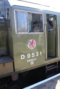 086 2015 - East Lancashire Railway Bury Bolton Street - Class 14 diesel-hydraulic locomotive D9531 Ernest