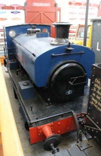 2015 - East Lancashire Railway - Bury Transport Museum - 1927 Andrew Barclay BCGD 0-4-0ST No.1