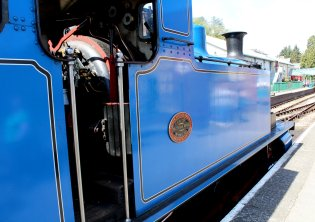 2015 - Lakeside and Haverthwaite Railway - Andrew Barclay 0-6-0T 1245