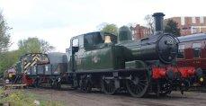 2015 - Severn Valley Railway Bridgnorth - Ex-GWR 14xx 1450