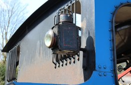 2015 - Lakeside and Haverthwaite Railway - Andrew Barclay 0-6-0T 1245 lamp