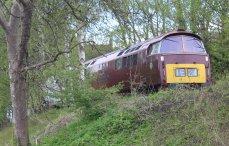 2015 - Severn Valley Railway Bridgnorth - Class 52 D1062 Western Courier Diesel-Hydraulic Loco