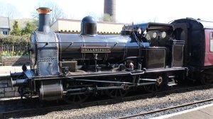 112 2015 - East Lancashire Railway Ramsbottom - Haydock Foundry 0-6-0 well tank built 1874, number C Bellerophon