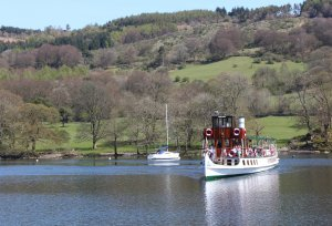 2015 - Lakeside and Haverthwaite Railway - Lake Windermere boat connection