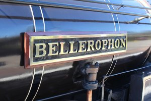 2015 - East Lancashire Railway Ramsbottom - Haydock Foundry 0-6-0 well tank built 1874, number C Bellerophon nameplate