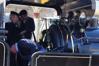 2015 - East Lancashire Railway Ramsbottom - Haydock Foundry 0-6-0 well tank built 1874, number C Bellerophon cab