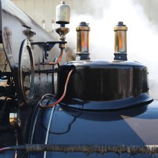 2015 - East Lancashire Railway Ramsbottom - Haydock Foundry 0-6-0 well tank built 1874, number C Bellerophon whistle