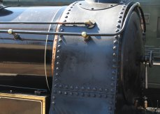 2015 - East Lancashire Railway Ramsbottom - Haydock Foundry 0-6-0 well tank built 1874, number C Bellerophon smokebox