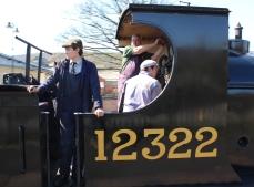 2015 - East Lancashire Railway Ramsbottom - Aspinall L&YR Class 27 1300 LMS 12322