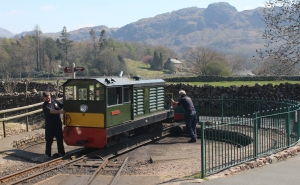 2015 - Ravenglass and Eskdale Railway - Bo-Bo Diesel hydraulic 112 h.p. Lady Wakefield