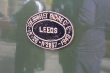 2015 - East Lancashire Railway Ramsbottom - Hunslet Austerity War Department 75008 Swiftsure