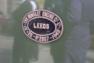 2015 - East Lancashire Railway Ramsbottom - Hunslet Austerity War Department 75008 Swiftsure