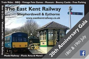 East Kent Railway 20th Anniversary Gala