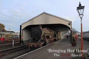 The 8F 45170 Appeal Bo'ness & Kinneil Railway 45170 (3)