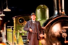 The Railway Children by Kenny,     Andy Dunn       , Written by - Mike Kenny, Director - Damian Cruden, Designer - Joanna Scotcher, Lighting - Richard G Jones, King's Cross, London, Uk, 2015, Credit: Johan Persson/