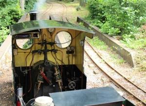 Bickington Steam Railway Trago Mills July 2015 Alice (1)
