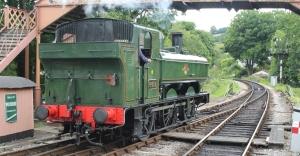 South Devon Railway Buckfastleigh July 2015 64xx 6412 (1)