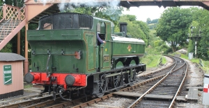 South Devon Railway Buckfastleigh July 2015 64xx 6412 (1)
