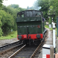 South Devon Railway Buckfastleigh July 2015 64xx 6412 (2)