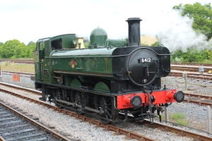 South Devon Railway Totnes Littlehempston July 2015 64xx 6412 (7)